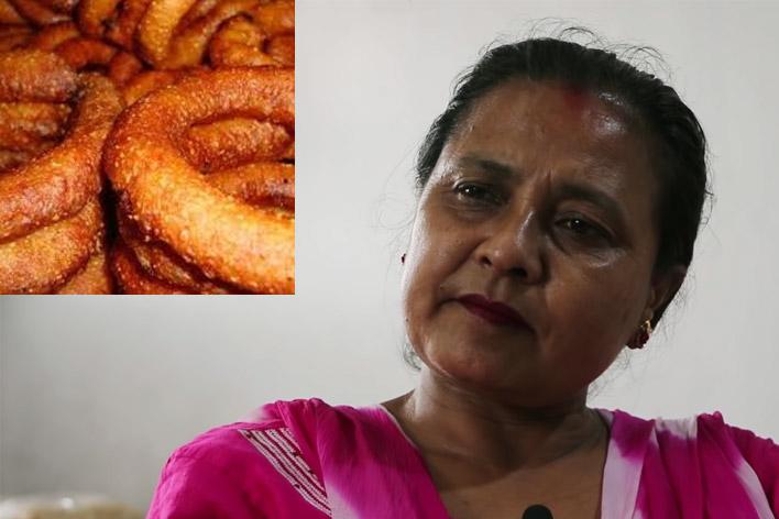Sabita Shrestha and Sel Roti